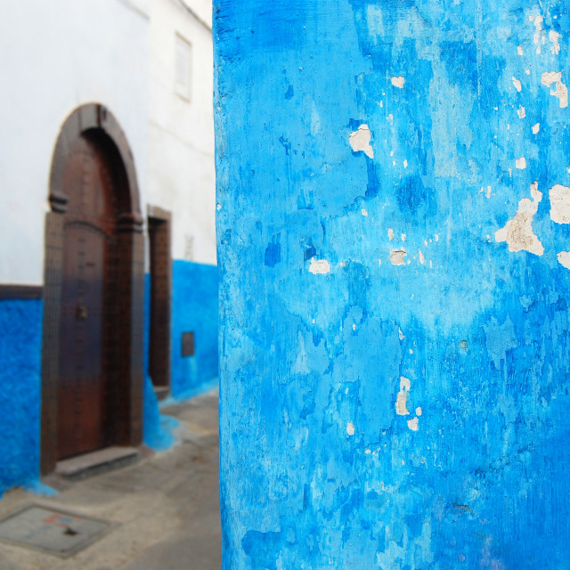 """Medina Blue"" stock image"