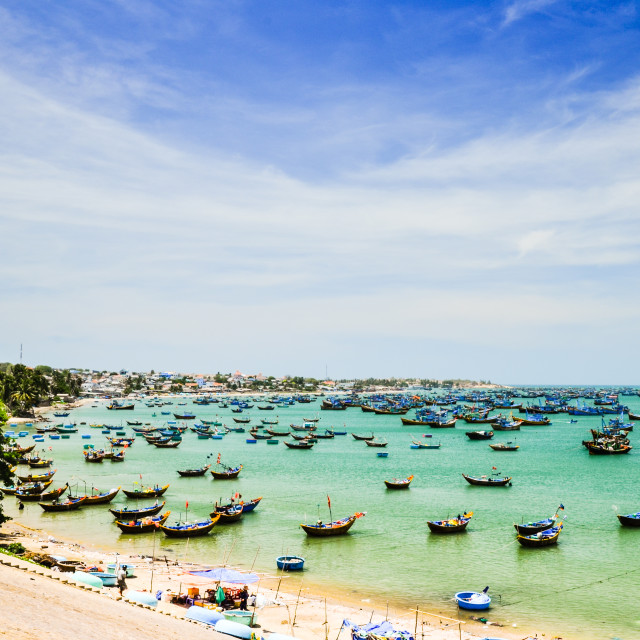 """Binh Thuan sea"" stock image"