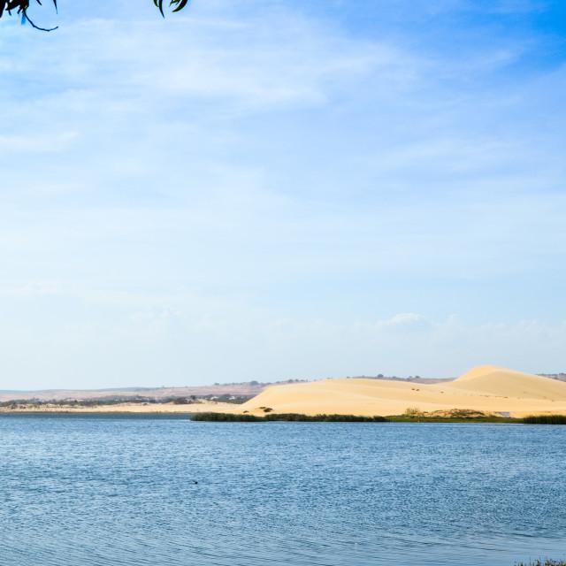 """""""Bau Trang Lake"""" stock image"""