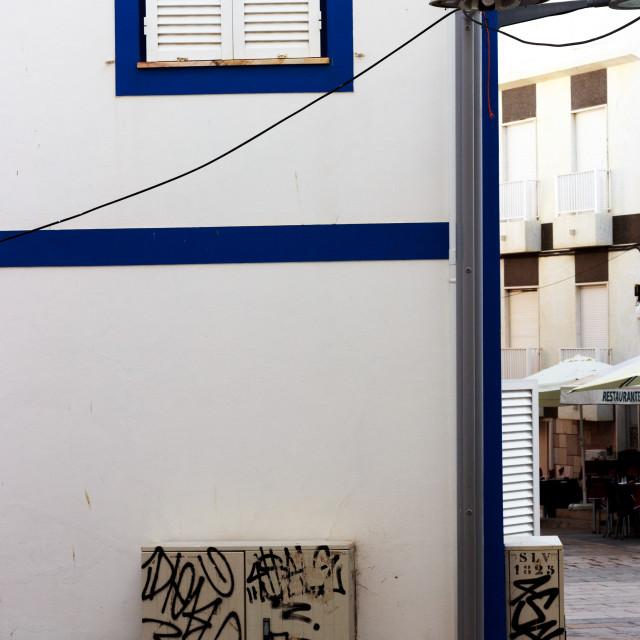 """Portuguese house of Algarve, Portugal"" stock image"