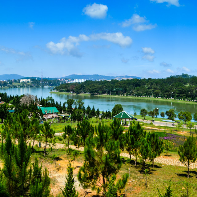 """Da Lat city"" stock image"