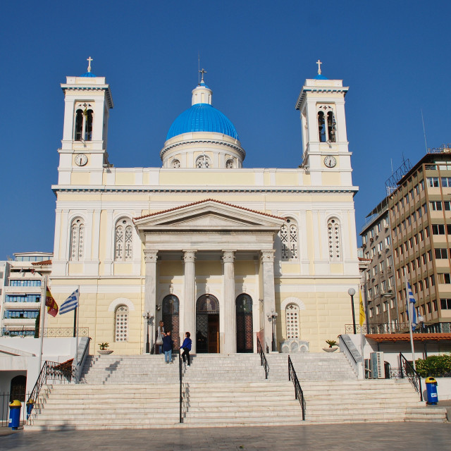 """Agios Nikolaos church, Athens"" stock image"