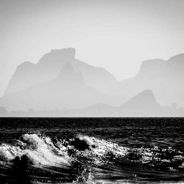 """Rio de Janeiro Beach"" stock image"
