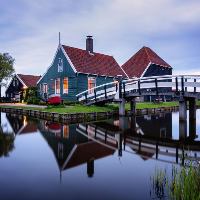 """Zaanse Schans, Netherlands"" stock image"