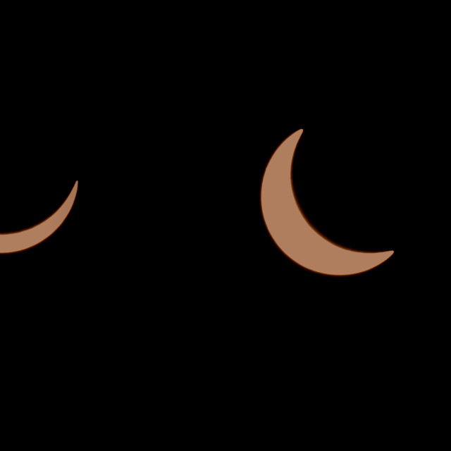 """""""Composite sequence of a solar eclipse"""" stock image"""