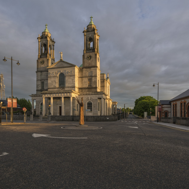 """""""Athlone, Church of Saints Peter and Paul, County Westmeath, Ireland"""" stock image"""