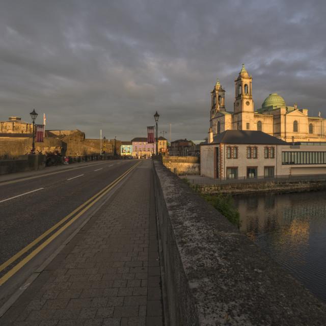 """""""Athlone, County Westmeath, Ireland"""" stock image"""