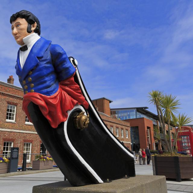 """""""Gunwharf Quays, Portsmouth, Hampshire, England, United Kingdom"""" stock image"""