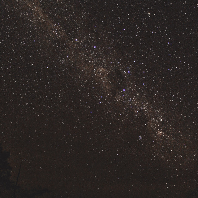 """Starlight in Northern Australia"" stock image"