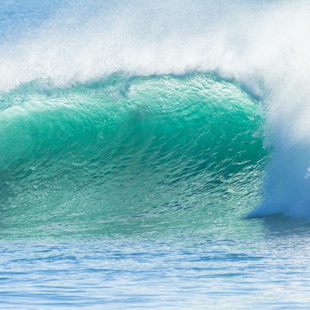 """Wave Ocean Backlight"" stock image"