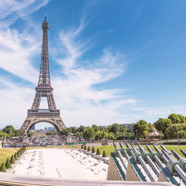 """Trocadero / Eiffel Tower"" stock image"