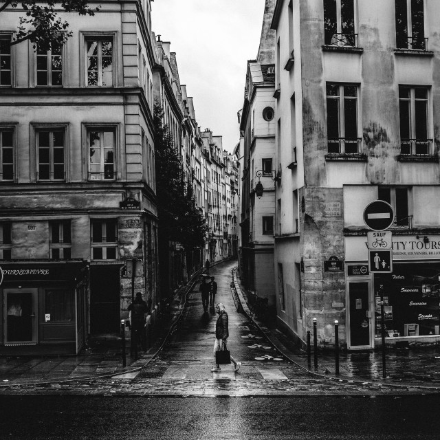 """Paris Streets"" stock image"