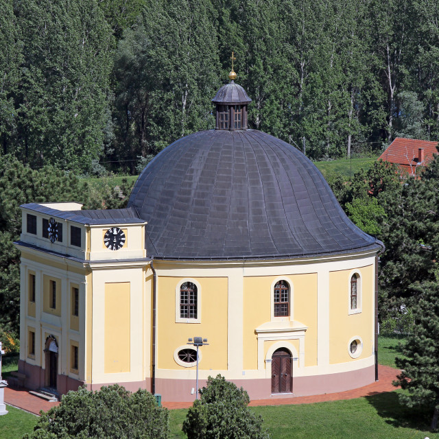 """chapel of peace Sremski Karlovci Serbia"" stock image"