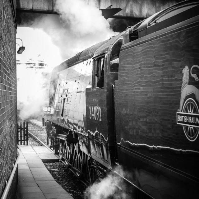 """""""Bury Station"""" stock image"""