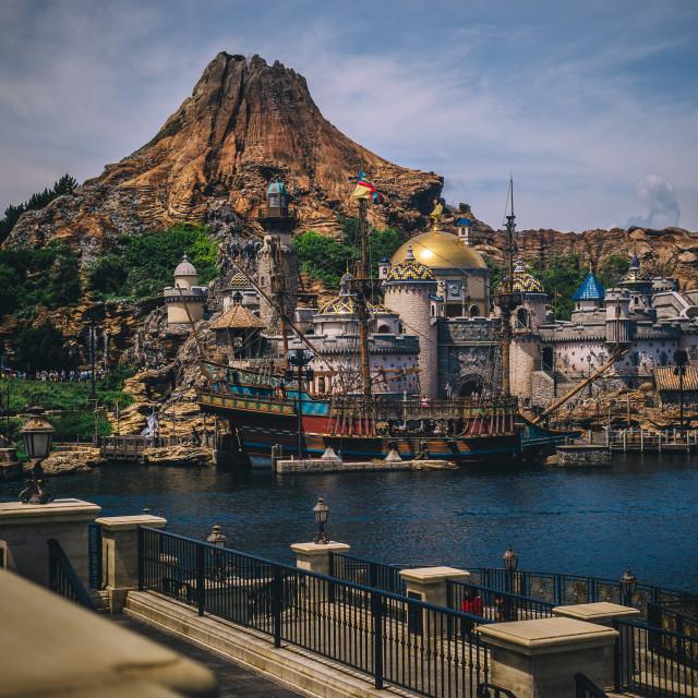 """Tokyo Disney Sea"" stock image"