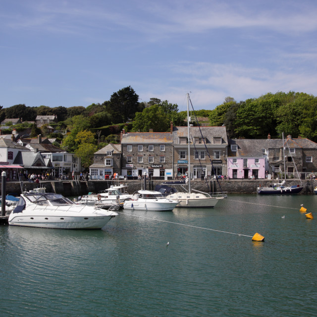 """""""Padstow Harbour Cornwall"""" stock image"""
