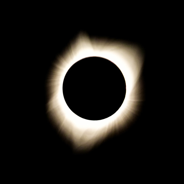 """Total Solar Eclipse"" stock image"