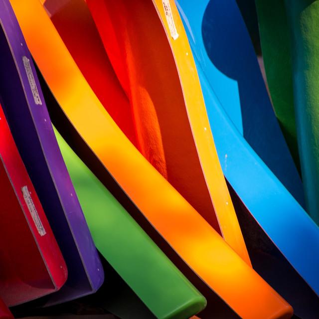 """""""Colourful fun"""" stock image"""