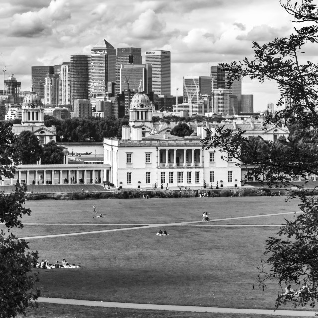 """London - Greenwich Park"" stock image"
