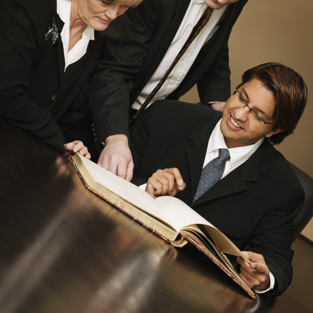 """Business Colleagues"" stock image"