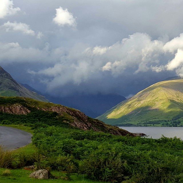 """Wastwater, Wasdale"" stock image"
