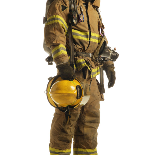 """Firefighter"" stock image"