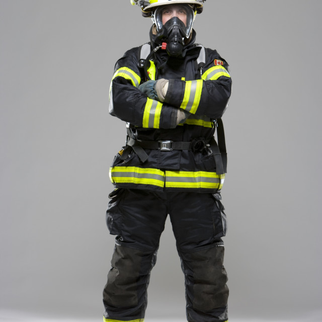 """""""Fire Fighter"""" stock image"""