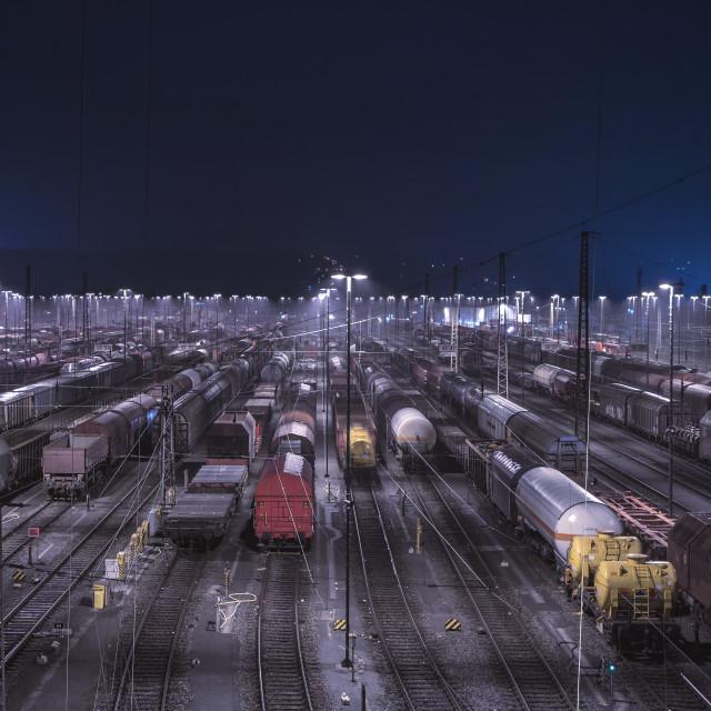 """Freight depot Hagen"" stock image"