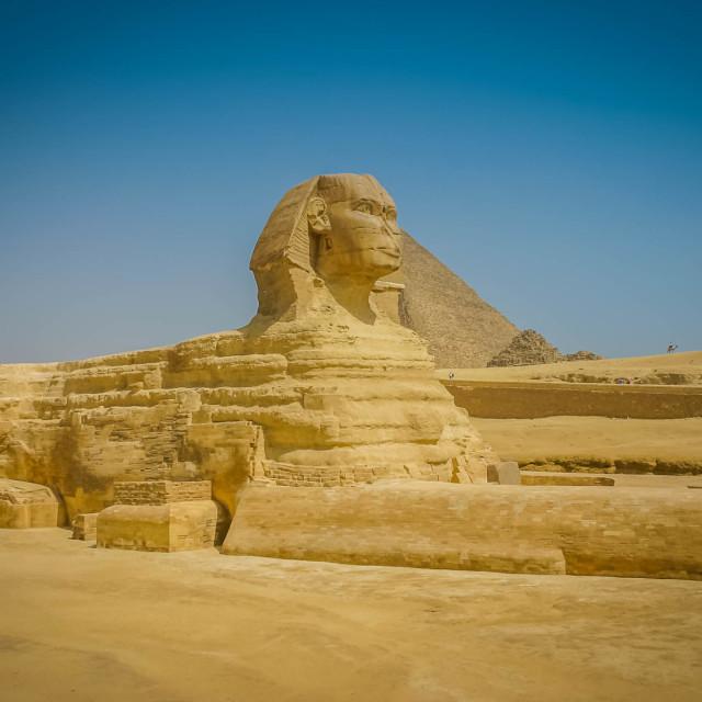 """""""The Sphinx"""" stock image"""