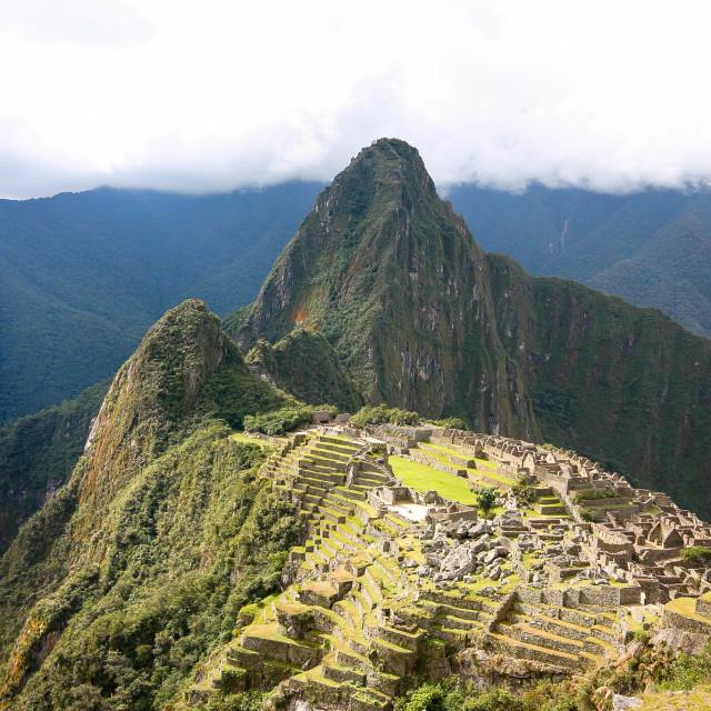 """""""Macchu Picchu"""" stock image"""