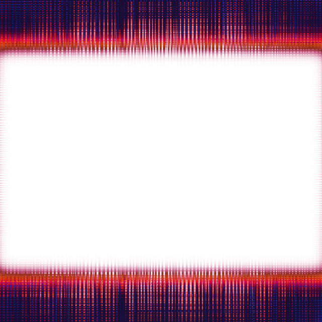 """Blue and orange lines border"" stock image"