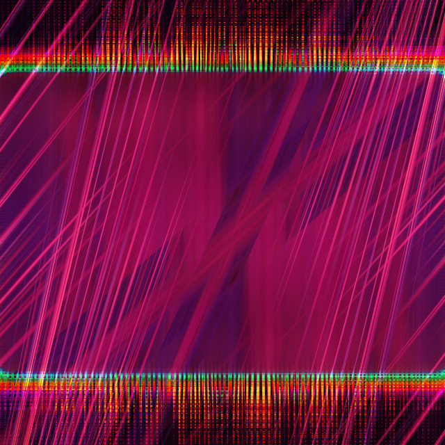 """""""Colourful light beams frame"""" stock image"""
