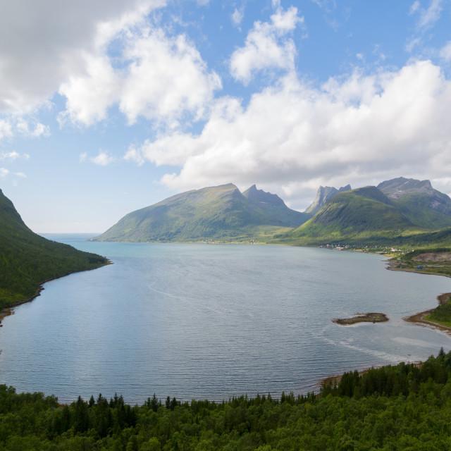 """""""Norway, Lofoten Island"""" stock image"""