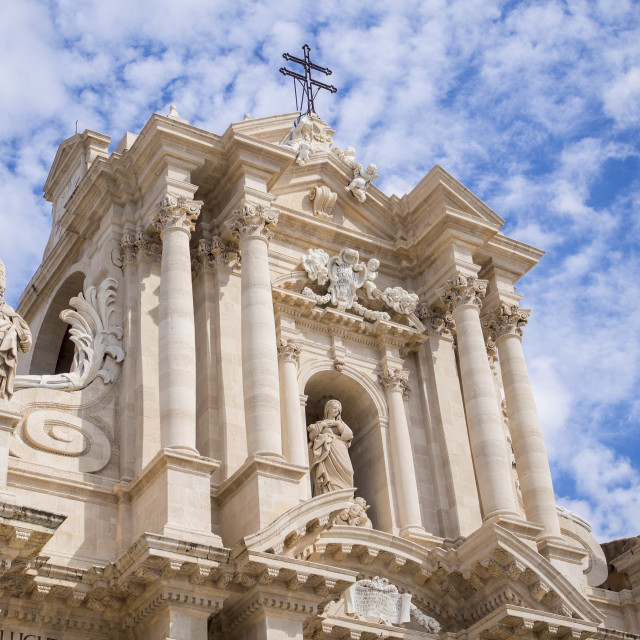 """Siracusa Cathedral"" stock image"