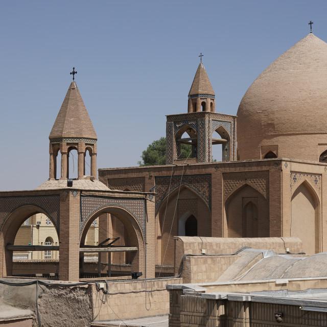 """""""Vank Cathedral (Armenian), Isfahan, Iran"""" stock image"""