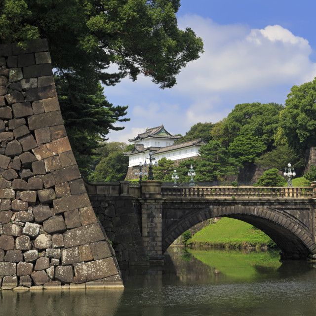 """Imperial Palace, Tokyo, Japan, Asia"" stock image"