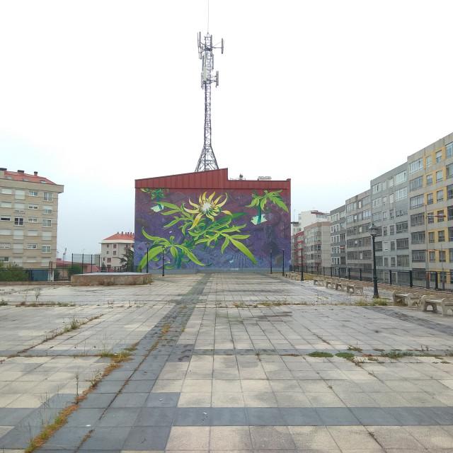 """Urban Art at Vigo"" stock image"