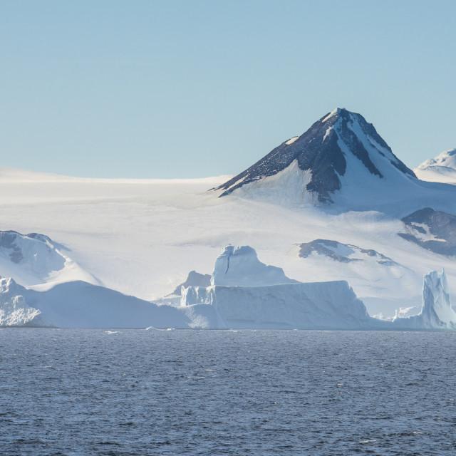 """Joinville island, Weddell, Sea, Antarctica, Polar Regions"" stock image"