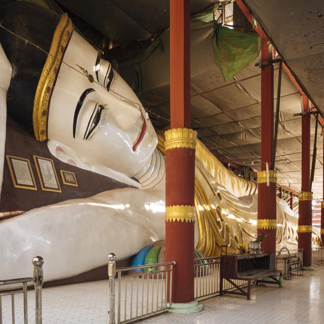 """Buddhist Temple, Amarapura, Mandalay, Mandalay Region, Myanmar"" stock image"