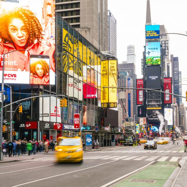 """Times Square, New York City, USA"" stock image"