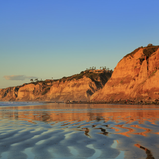 """La Jolla Shores Beach, La Jolla, San Diego, california, USA"" stock image"
