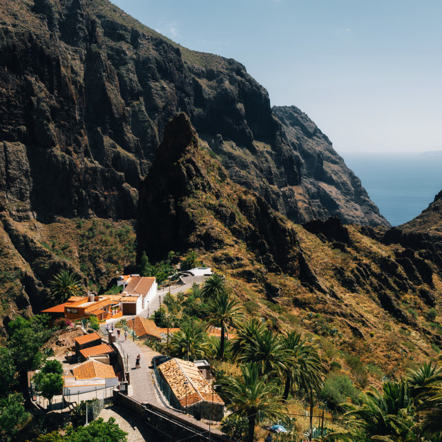 """Masca Village in Tenerife, Canary Islands, Spain"" stock image"