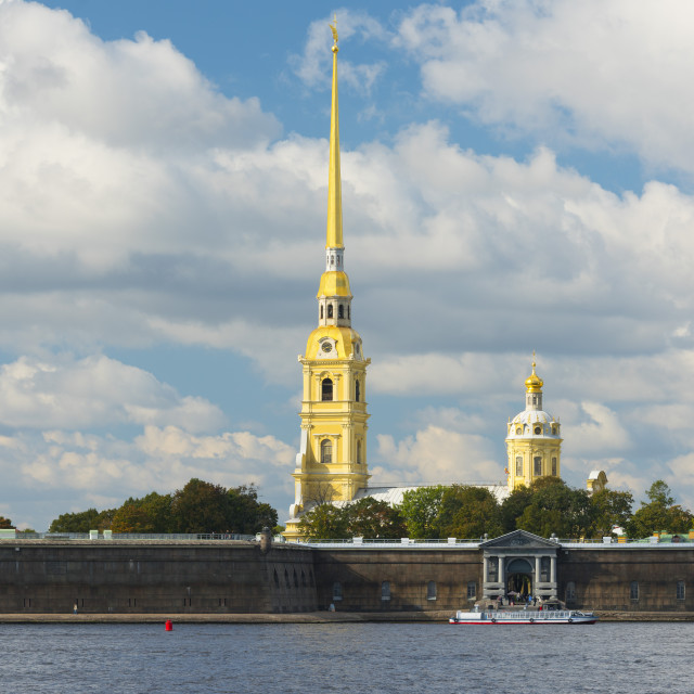 """""""The Peter and Paul Fortress, Saint Petersburg, Russia"""" stock image"""