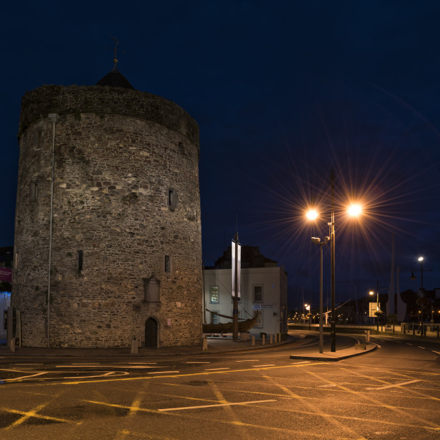"""Reginald's Tower, County Waterford, Ireland"" stock image"