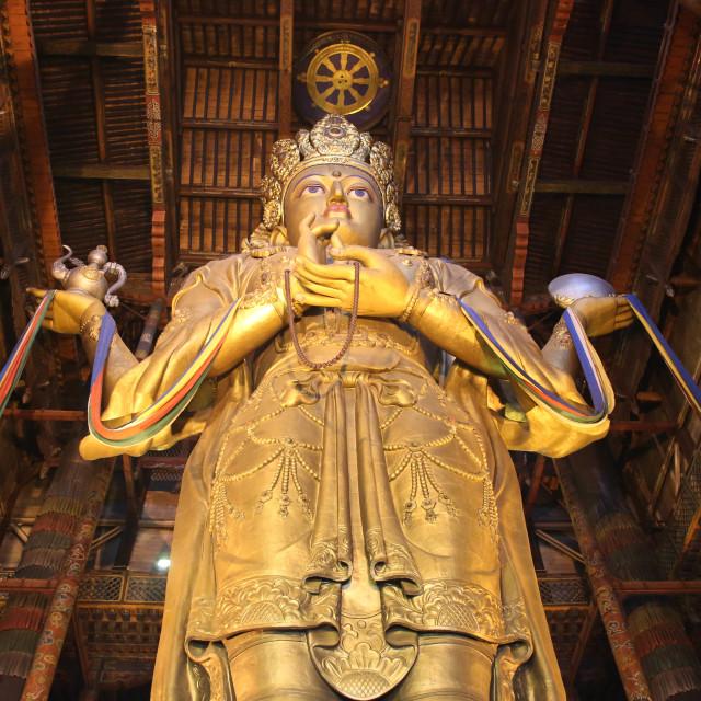 """""""Avalokiteśvara"""" stock image"""
