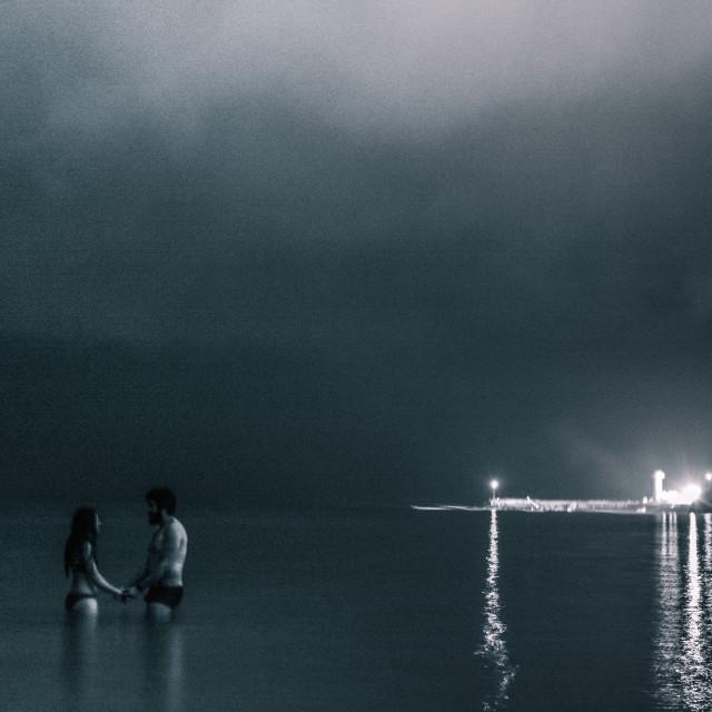 """Night Lovers"" stock image"