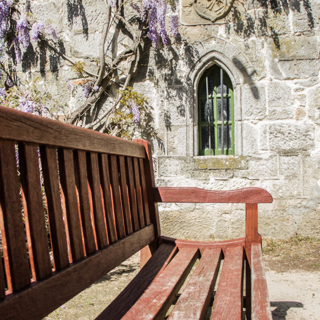 """""""The bench"""" stock image"""