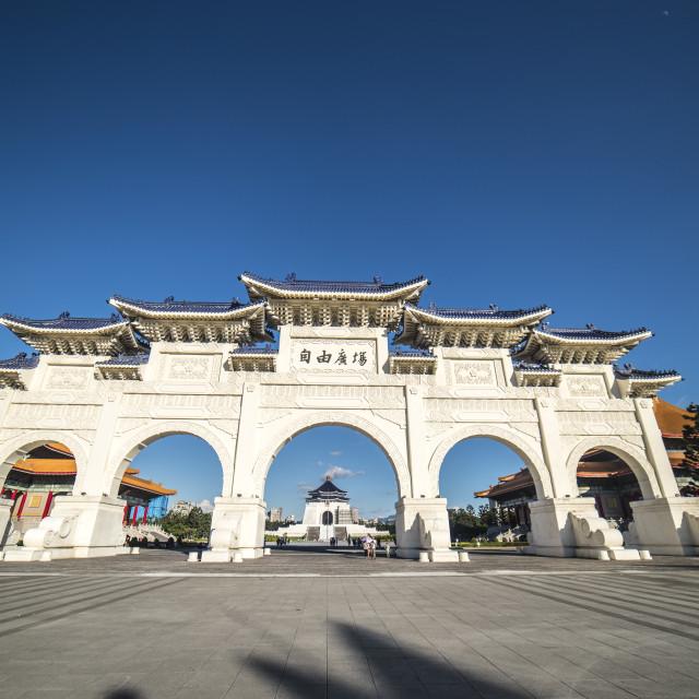 """Taipei National Monument"" stock image"