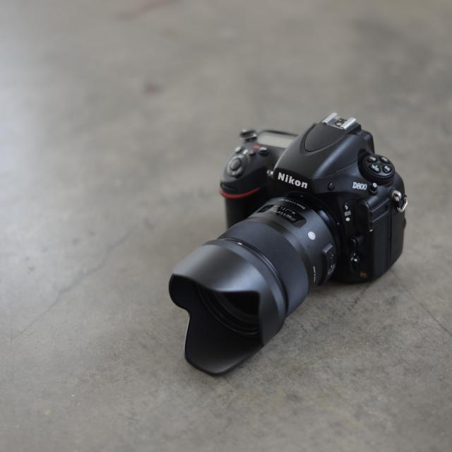 """NIkon D800"" stock image"