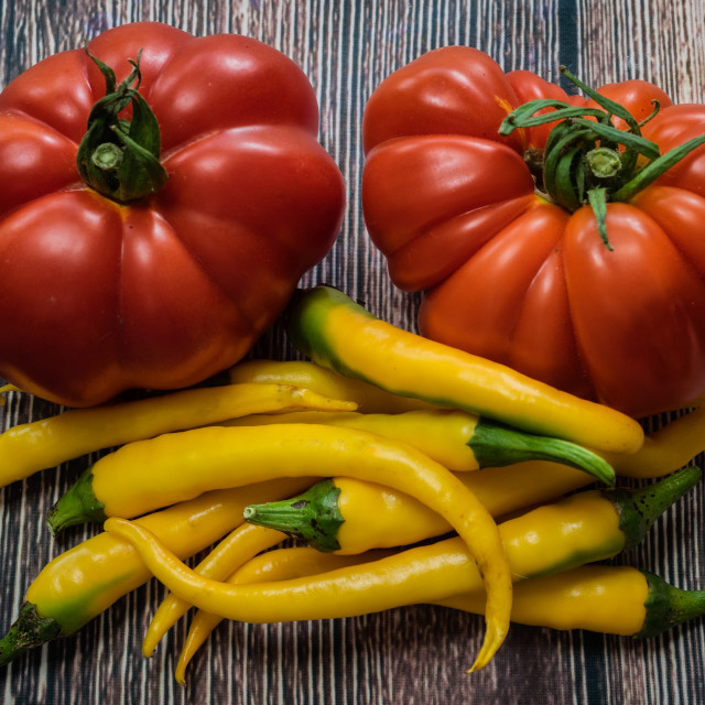 """""""Golden Cayenne and Marmande RAF"""" stock image"""